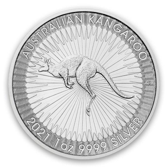 1 oz Silver Australian Kangaroo 2021 - Perth Mint