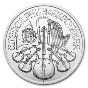2021 1 oz Silver Philharmonic - Austrian Mint