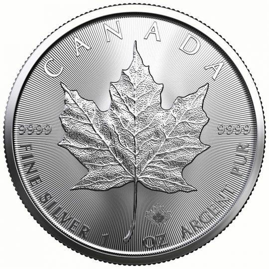 2021 1 Oz Silver Maple Leaf Coins Royal Canadian Mint