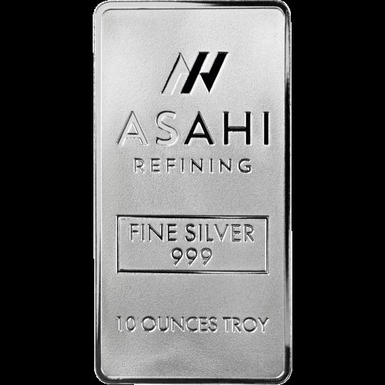 10 oz silver bar asahi