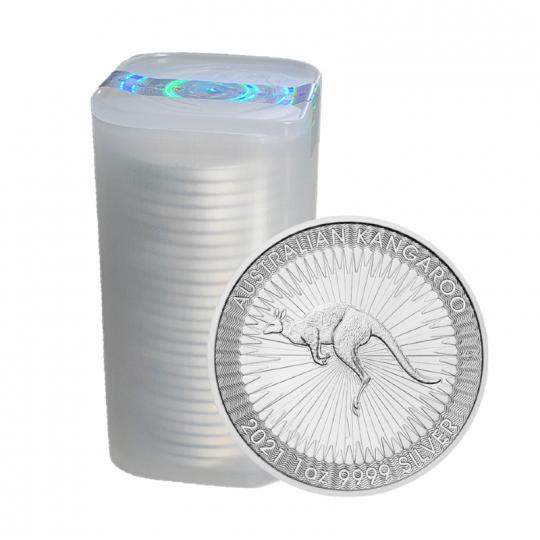 2021- 1 oz Silver Australian Kangaroo Tube - Perth Mint
