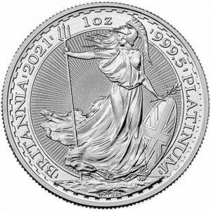 2021 1 oz platinum royal mint