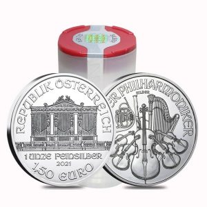 2021 1 oz Silver Philharmonic Tube – Austrian Mint