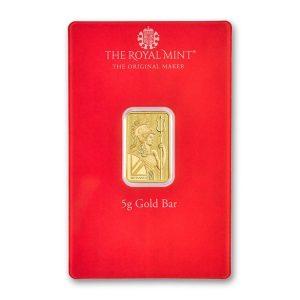 5 gram gold henna card