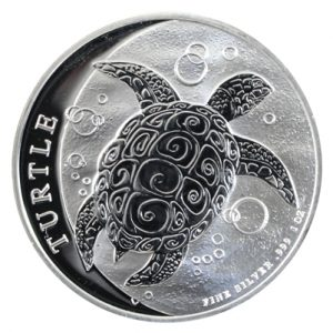 2021 1 oz Silver Nieu Turtle Coins - New Zealand Mint