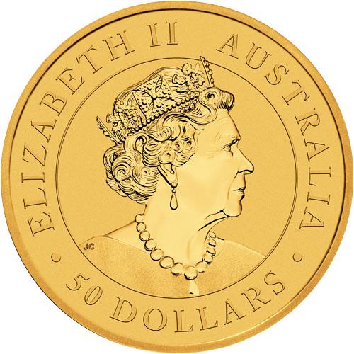 2021 1/2 oz Australian Gold Kangaroo - Perth Mint